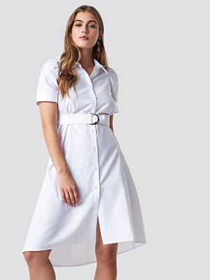 NA-KD Trend Belted Shirt Dress - Midiklänningar