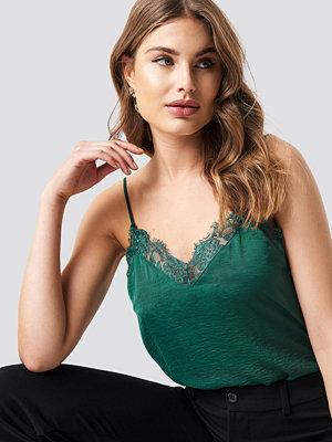 Rut & Circle Stine Lace Singlet grön