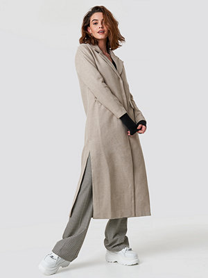 Trendyol Milla Long Coat beige