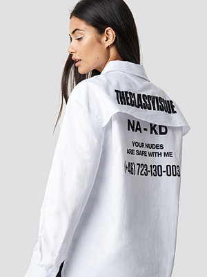 The Classy Issue x NA-KD The Classy Safety Shirt