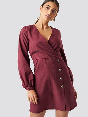 Trendyol Bone Button Detailed Dress - Miniklänningar