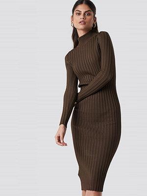 Mango Choco Midi Dress - Midiklänningar