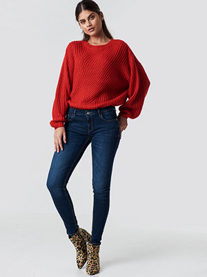 Mango Kim Jeans blå