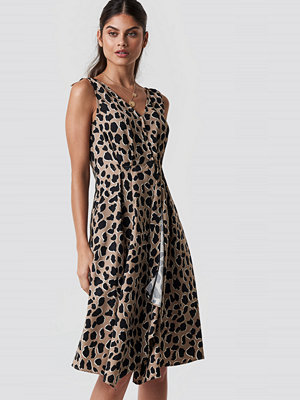 Mango Animal Midi Dress - Midiklänningar