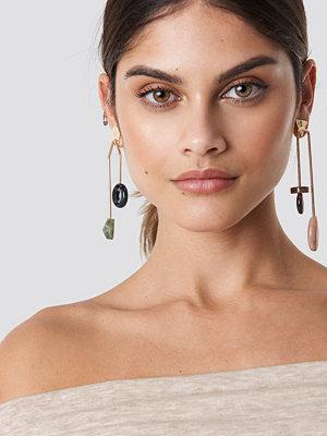 Mango Louvre Earrings - Smycken