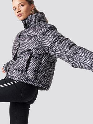 NA-KD Trend NA-KD Logo Puffer Jacket - Jackor