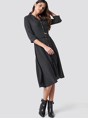 Mango Pin Midi Dress - Midiklänningar