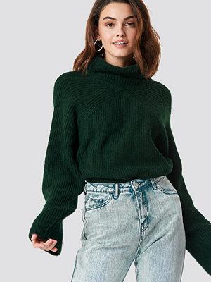 XLE the Label Christina High Neck Sweater grön