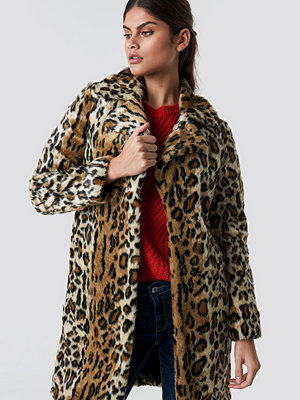 Mango Kenia Coat multicolor