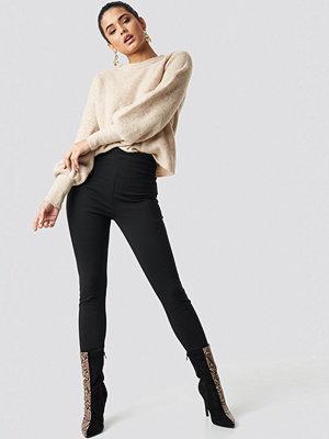 Leggings & tights - NA-KD Trend High Waist Leggings svart