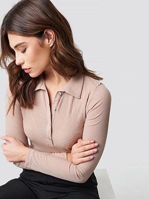 Trendyol Polo Collar Knitted Blouse - Skjortor