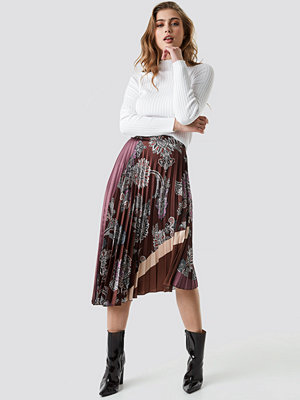 Mango Flytres Midi Skirt multicolor