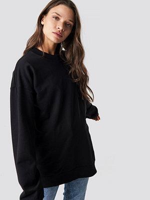 NA-KD Basic Unisex Sweatshirt svart