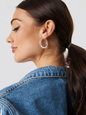 NA-KD Accessories Chunky Hoop Earrings - Smycken