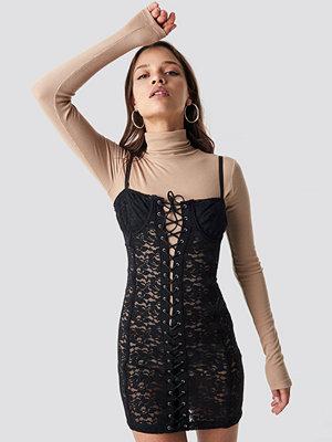 Motel Rocks Sakina Mini Dress svart
