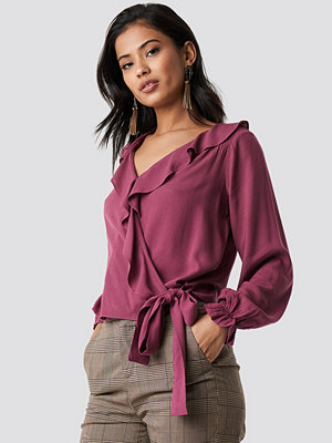 Trendyol Milla Detailed Blouse lila