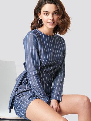 Trendyol Striped Mini Dress blå