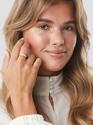 Matilda Djerf x NA-KD Pearled Ring - Smycken