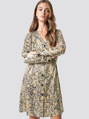 Trendyol Snake Patterned Dress - Korta klänningar