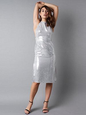 NA-KD Party Open Side Sequin Midi Dress - Festklänningar