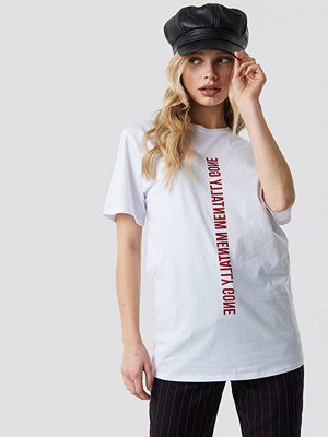 T-shirts - NA-KD Trend Mentally Gone Unisex Tee