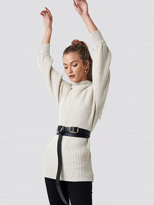 Bälten & skärp - Camille Botten x NA-KD Double Layer Long Belt svart