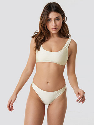 NA-KD Swimwear Sporty Bikini Briefs vit
