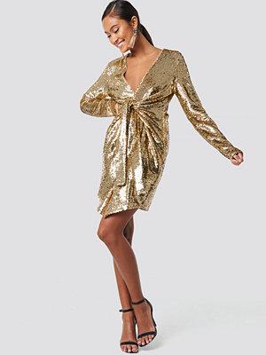 XLE the Label Alyssa Sequin Dress guld
