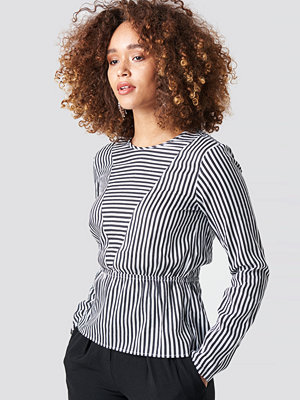 Rut & Circle Layla Stripe Blouse - Blusar