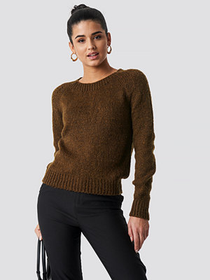 Trendyol Fitted Knitted Sweater brun