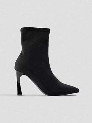 Pumps & klackskor - NA-KD Shoes Scuba Sock Boots svart