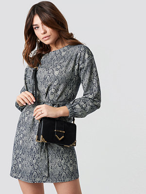 Trendyol Printed Mini Dress - Korta klänningar