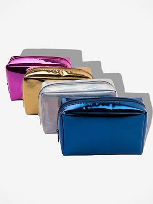 Rebecca Stella Metallic Makeup Bag - Smycken