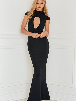 Rebecca Stella Open Front Fishtail Dress - Festklänningar