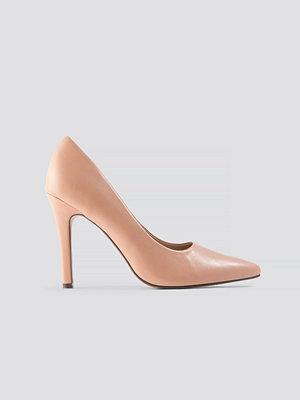 NA-KD Shoes Pumps rosa beige