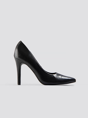 NA-KD Shoes PU Pumps svart