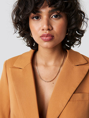 NA-KD Classic Small Curb Chain Necklace - Smycken