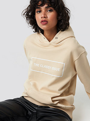 Tröjor - The Classy Issue Classy Hoodie beige