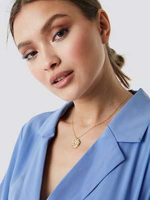 NA-KD Accessories Structured Zodiac Gemini Necklace - Smycken