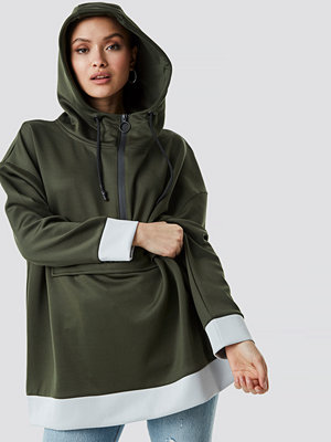 NA-KD Oversize Pouch Pocket Hoodie