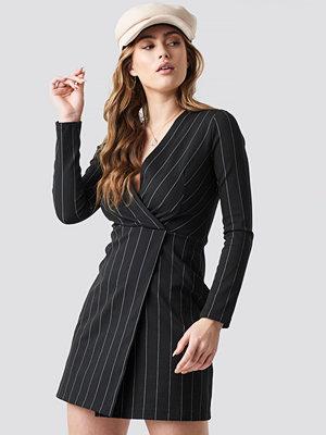 Mango Froson Mini Dress svart