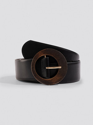 Mango Wood Belt svart