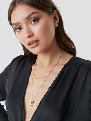 NA-KD Accessories smycke Female Body Pendant Necklace guld
