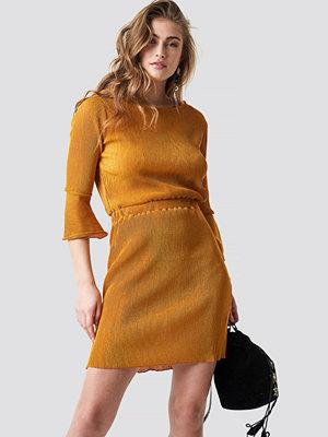 Trendyol Flange Midi Dress - Korta klänningar