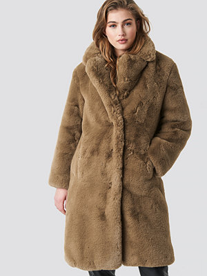 Mango Chilly Coat brun beige