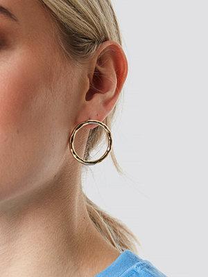 NA-KD Accessories smycke Circle Stud Earrings guld