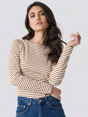 NA-KD Thin Striped Long Sleeve Top multicolor
