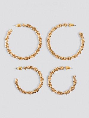 NA-KD Accessories Chain Earrings Set - Smycken