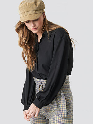 Trendyol Balloon Sleeve Shirt svart