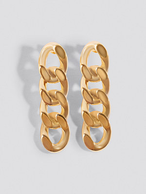 NA-KD Accessories Mini Chain Earrings - Smycken